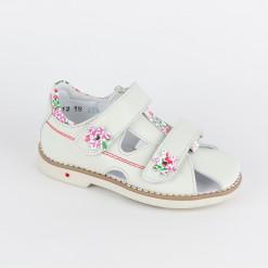 Sandalen weiß für Mädchen 06-0-2535-3